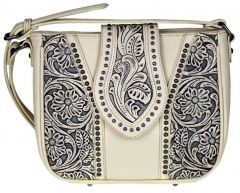 Trinity Ranch Tooled Leather Collection Cross Body