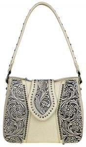 Trinity Ranch Tooled Leather Collection Concealed Handgun Hobo